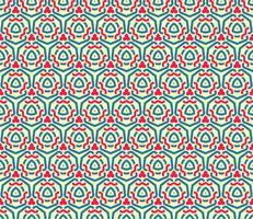 Dekorative Symmetrien des nahtlosen Musters, Verzierungsmustervektor vektor