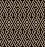 Seamless pattern. Elegant linear ornament. Geometric stylish bac vector