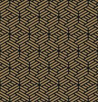 Sömlöst mönster. Elegant linjär prydnad. Geometrisk stilig bac