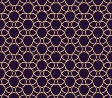 Vector seamless pattern. Modern stylish texture. Geometric linear ornament.