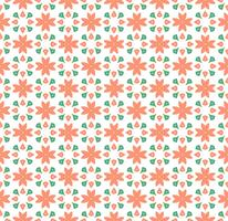 Blumenfliesen-nahtloses Vektor-Pattern.flower geometrisches Beschaffenheits-PA