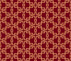 Vektor sömlöst mönster. Modern stilig struktur. Geometrisk randig prydnad. lyxigt linjärt mönster