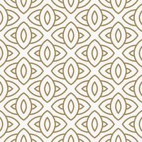 Modern Luxury geometrical ornaments with lines seamless patterns