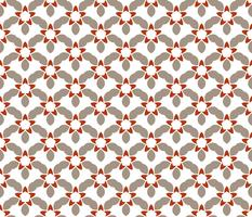 Seamless abstract floral pattern. symmetry modern style