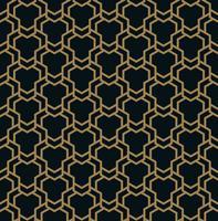 Vector naadloos patroon. Moderne stijlvolle textuur. Geometrische strip