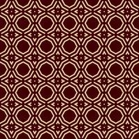 Patrón geométrico de lujo. Vector sin patrón Lineal moderno