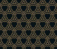 Vector naadloos patroon. Moderne stijlvolle textuur. Geometrische linea