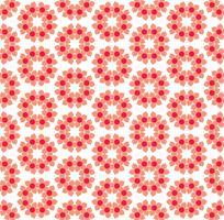 fleur géométrique floral sans soudure de fond