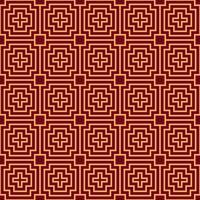 Vector naadloos patroon. Moderne stijlvolle textuur. Geometrisch gestreept ornament. luxe lineair patroon