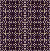 Vector seamless. Moderna trama elegante Ornamento geometrico lineare.