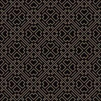 linea geometrica ornamento seamless, stile moderno e minimalista