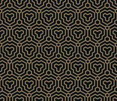 Naadloos patroon. Elegant lineair ornament. Geometrische stijlvolle bac