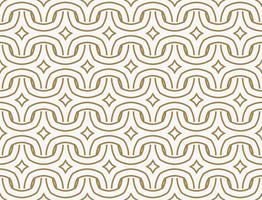 Modern Luxury stylish geometric textures with lines seamless pat