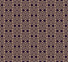 Vector seamless pattern. Modern stylish texture. Geometric linear ornament.