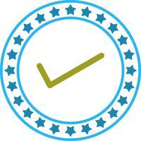 Vector Tick pictogram