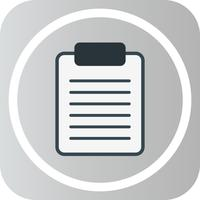 Vector Clip Board Icon
