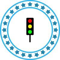 Vector icono de señal de tráfico