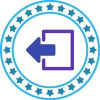 Vector Logout Icon