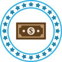 Vector Dollar Note Icon