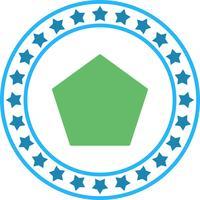 Vector Poloygon pictogram