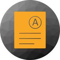 Vector Une Icône De Grade