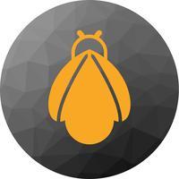 Vector icono de abeja