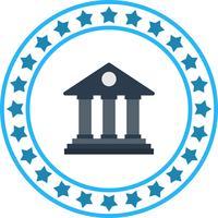 Icona della banca di vettore