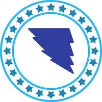 Icona di tornado vettoriale