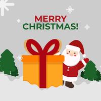 Vetor de feliz Natal