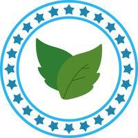Icona di foglie vettoriali