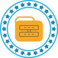 Icona della cartella del server vettoriale