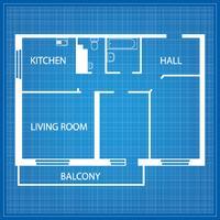 Layout do apartamento