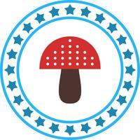Vector Mushroom Icon
