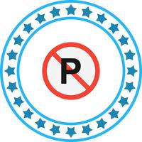 Vector No Parking Icon