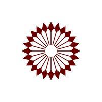 Blüten-Blumen-Logo Template Illustration Design. Vektor EPS 10.