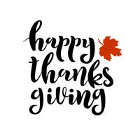Happy Thanksgiving Day-Karte