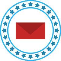 Ícone de mensagem de vetor