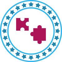 Vektor-Puzzleteil-Symbol