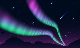 aurora,polar lights,northern lights or southern lights is a natural light display in the Earth's sky,