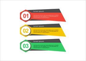 Modern vector creative presentation banners
