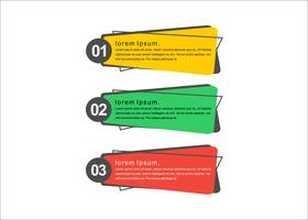 Presentación moderna vector banners minimalistas.