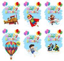 Set van verjaardag pictogram