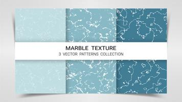 Bakgrund och texturer av Marmor Premium Set Patterns Collection Template.