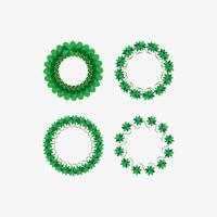 Modèle de conception de fleur de cercle
