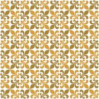 Ontwerp Fleur DE Lis Seamless Pattern Illustration. Achtergrond Vector EPS 10.