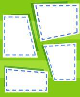 Lege groene sjabloon achtergrond