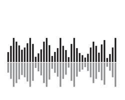 Sound wave illustration - Vector