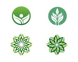 Écologie laisse illustration du logo