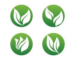 Ecologia deixa ilustração do logotipo