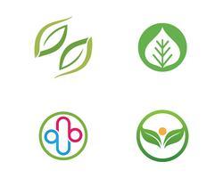 Ökologie lässt Logoillustration